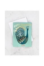 Hanukkah Peacock Box Set of 8