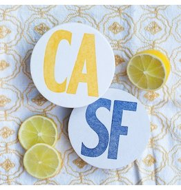 folio press & paperie SF/CA - 10 Double Sided Coasters