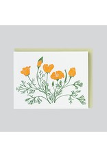 folio press & paperie Poppies Card