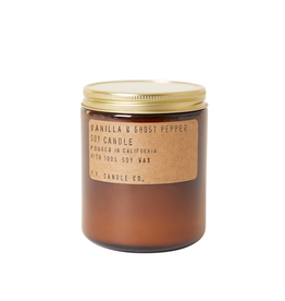 7.2 oz Soy Candle - Vanilla & Ghost Pepper