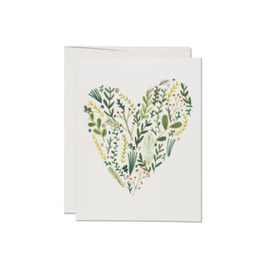 Rifle Paper Boxed set of Floral Heart cards