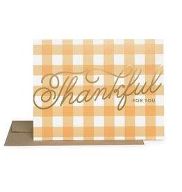 Thankful Thank You Card