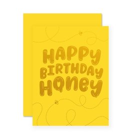 Happy Birthday Honey Card