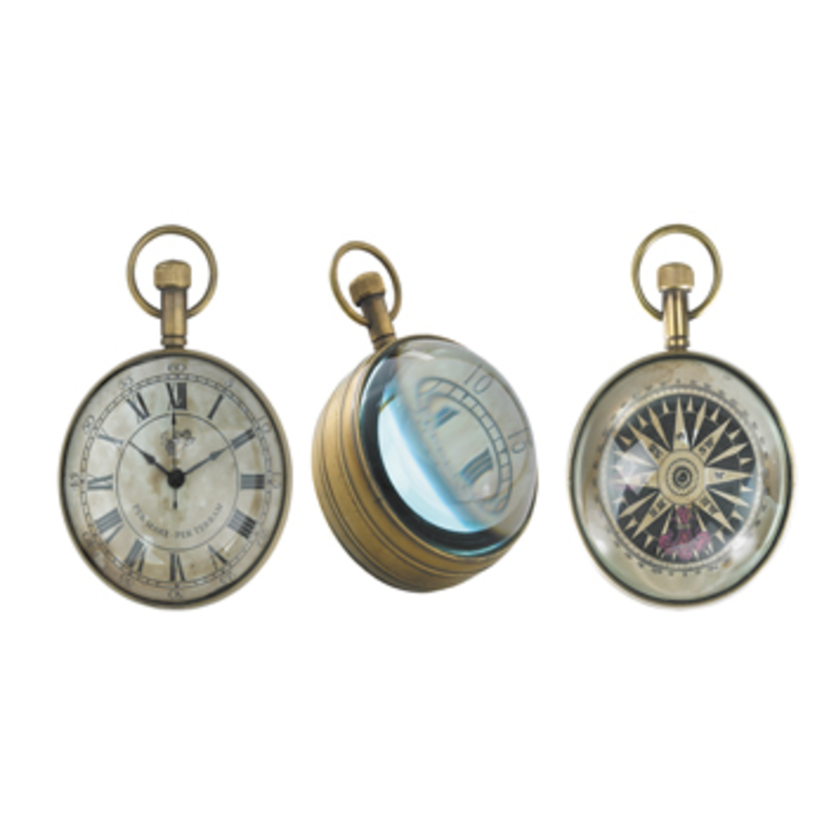 AUTHENTIC MODELS EYE OF THE TIME CLOCK 5 CM
