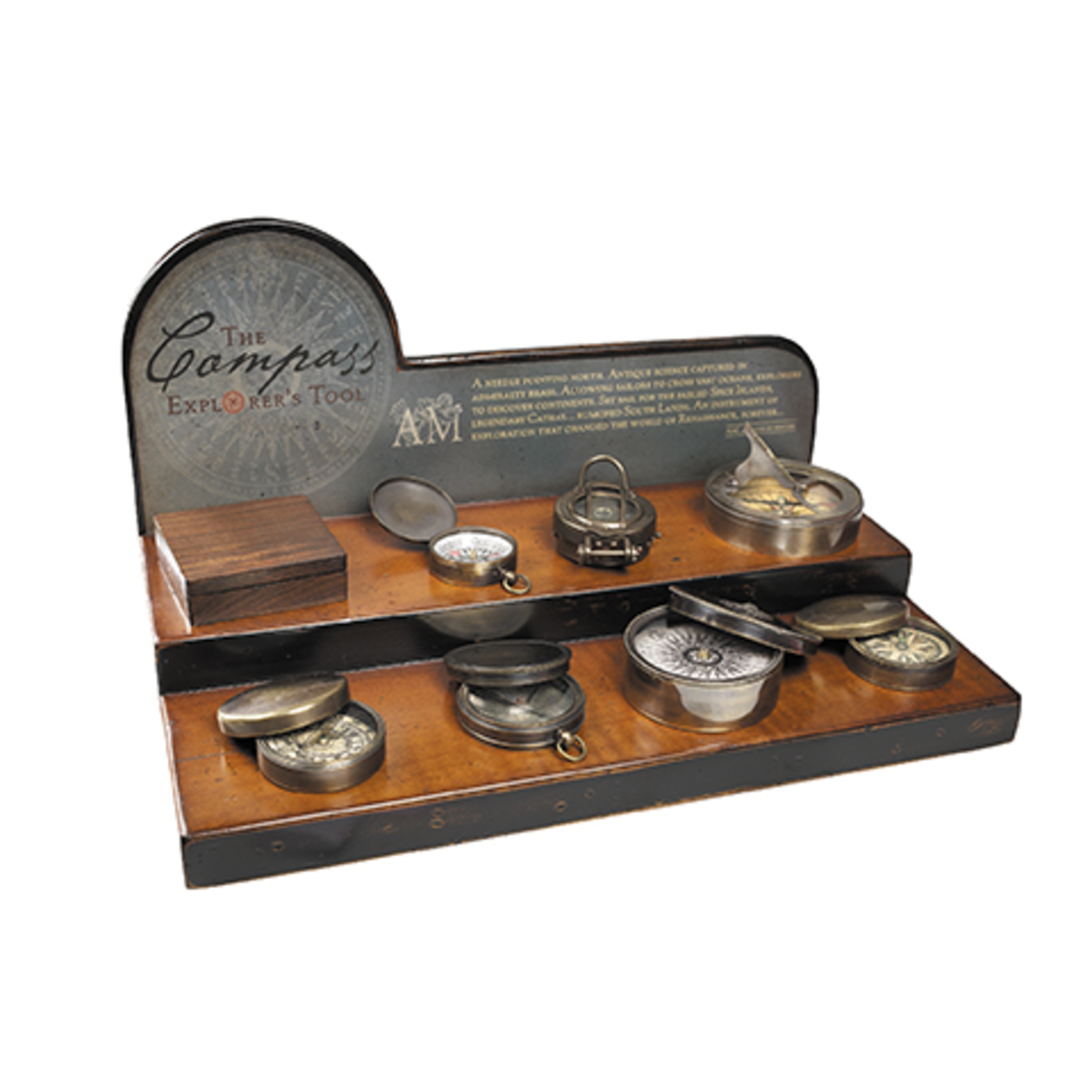 AUTHENTIC MODELS Compass Display