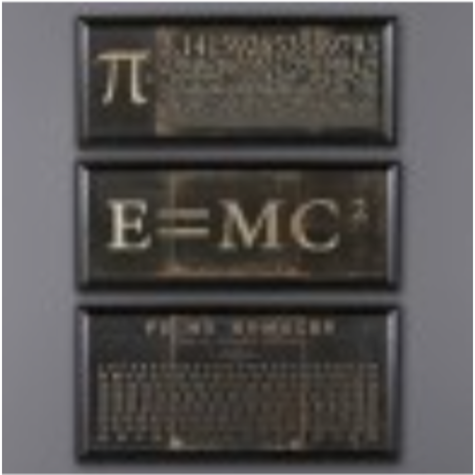 """ATELIERS & CSD FRAMES """"THE ELEMENTS"""" (SET OF 3)"""