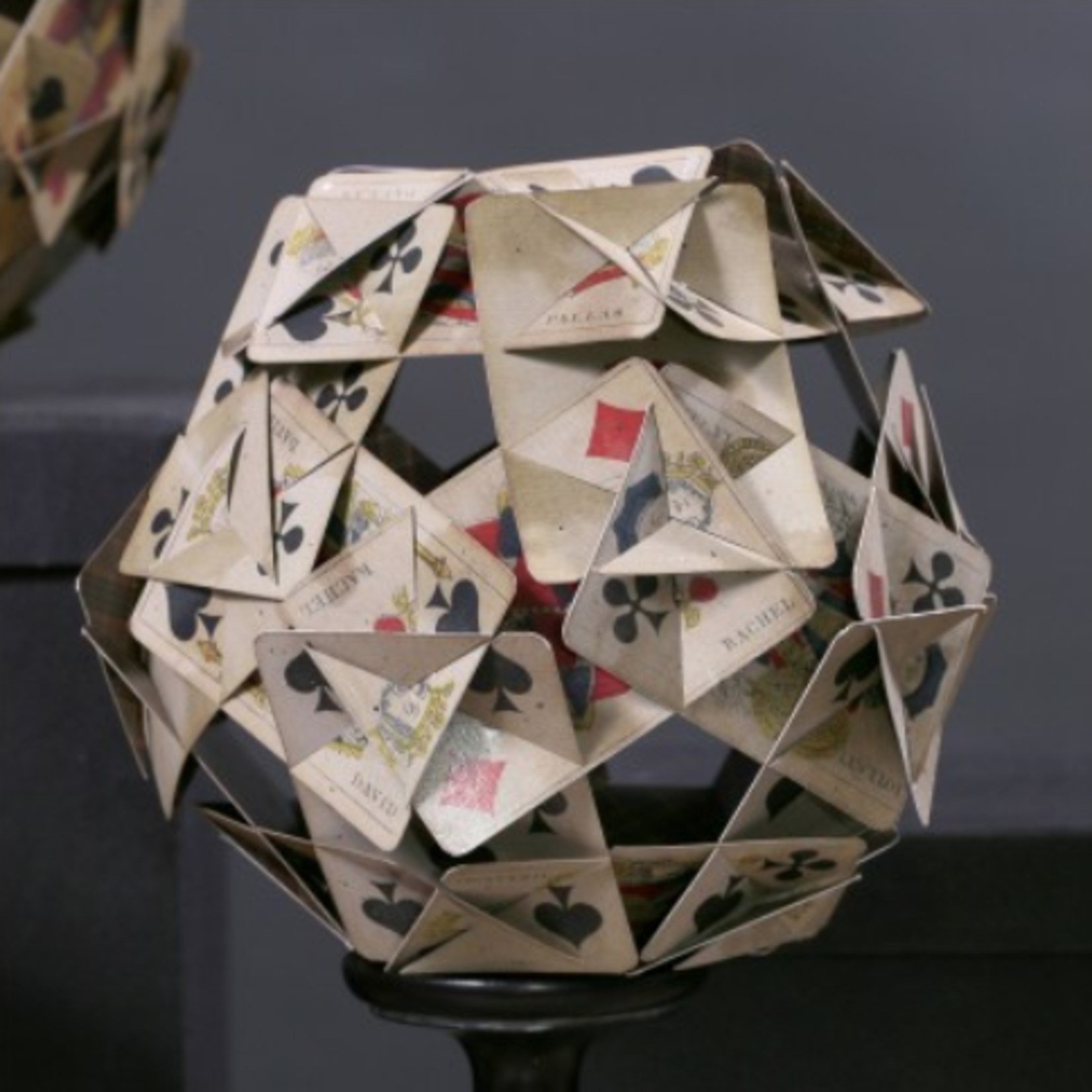 ATELIERS & CSD POLYHEDRONS OF PLAYING CARDS SMALL