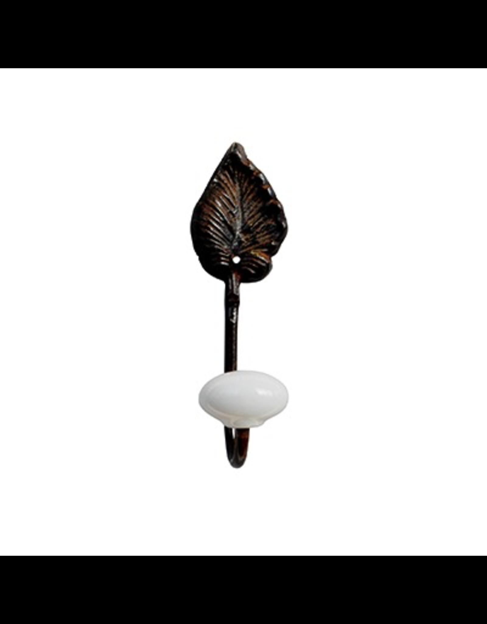 CHEHOMA Hook(1x) leaf & ceramic