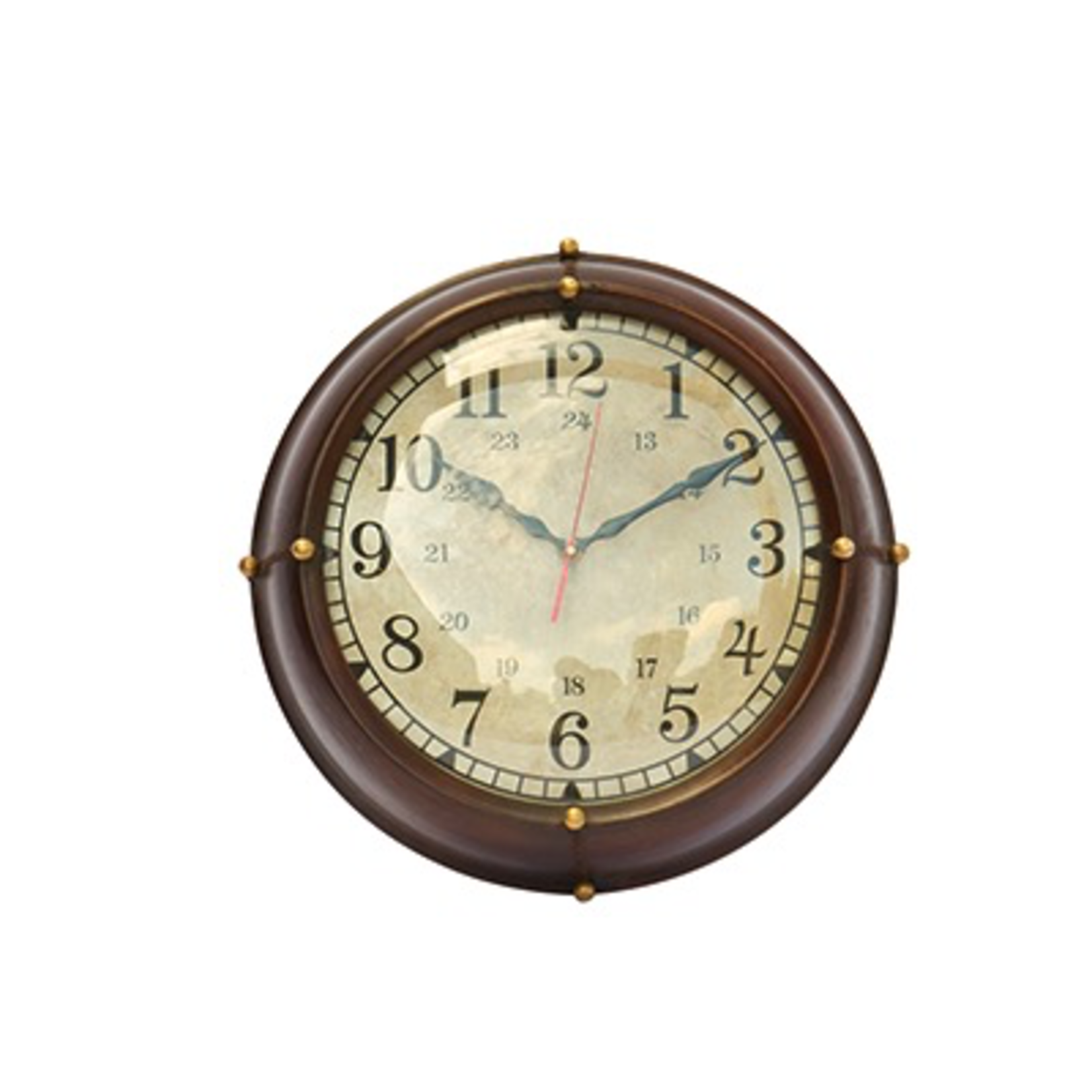 CHEHOMA WALL CLOCK WITH LEATHER