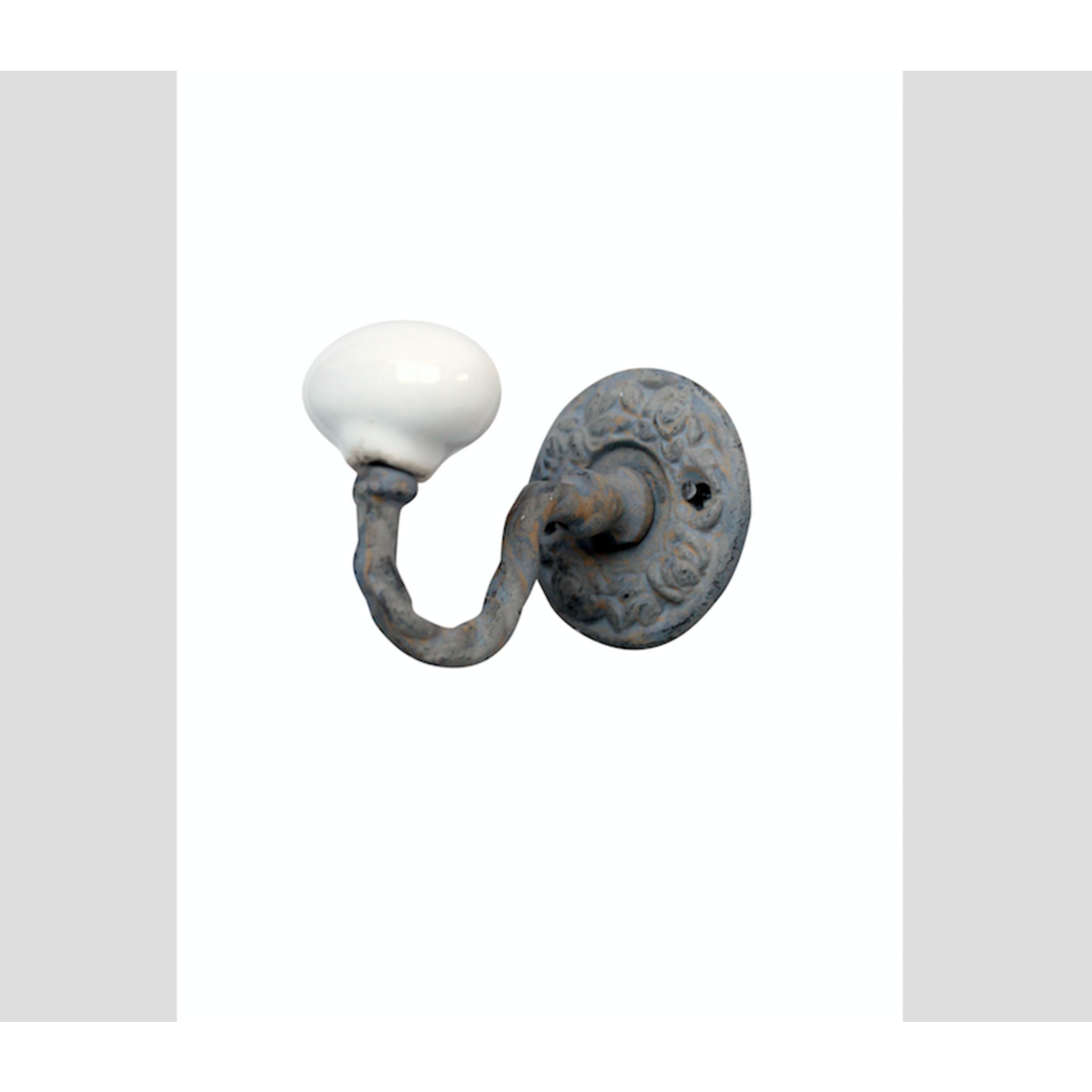 CHEHOMA DECORATIVE HOOK WITH ROUND GREY
