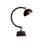 "CHEHOMA LEATHER LAMP ""ARC"""