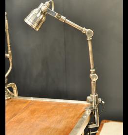 CHEHOMA SHELF LAMP NICKEL FINISH