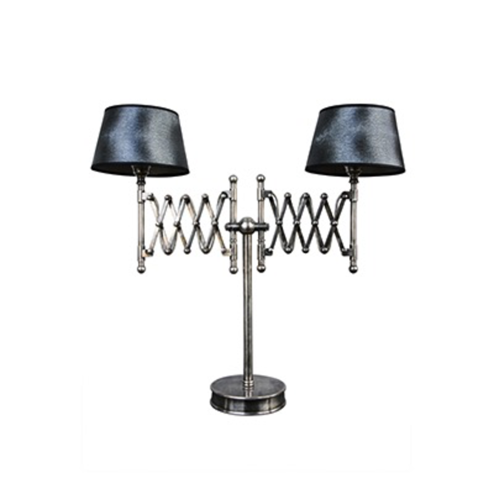 CHEHOMA TABLE LAMP NICKEL FINISH