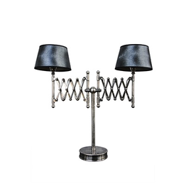 CHEHOMA TABLE LAMP NICKEL FINISH