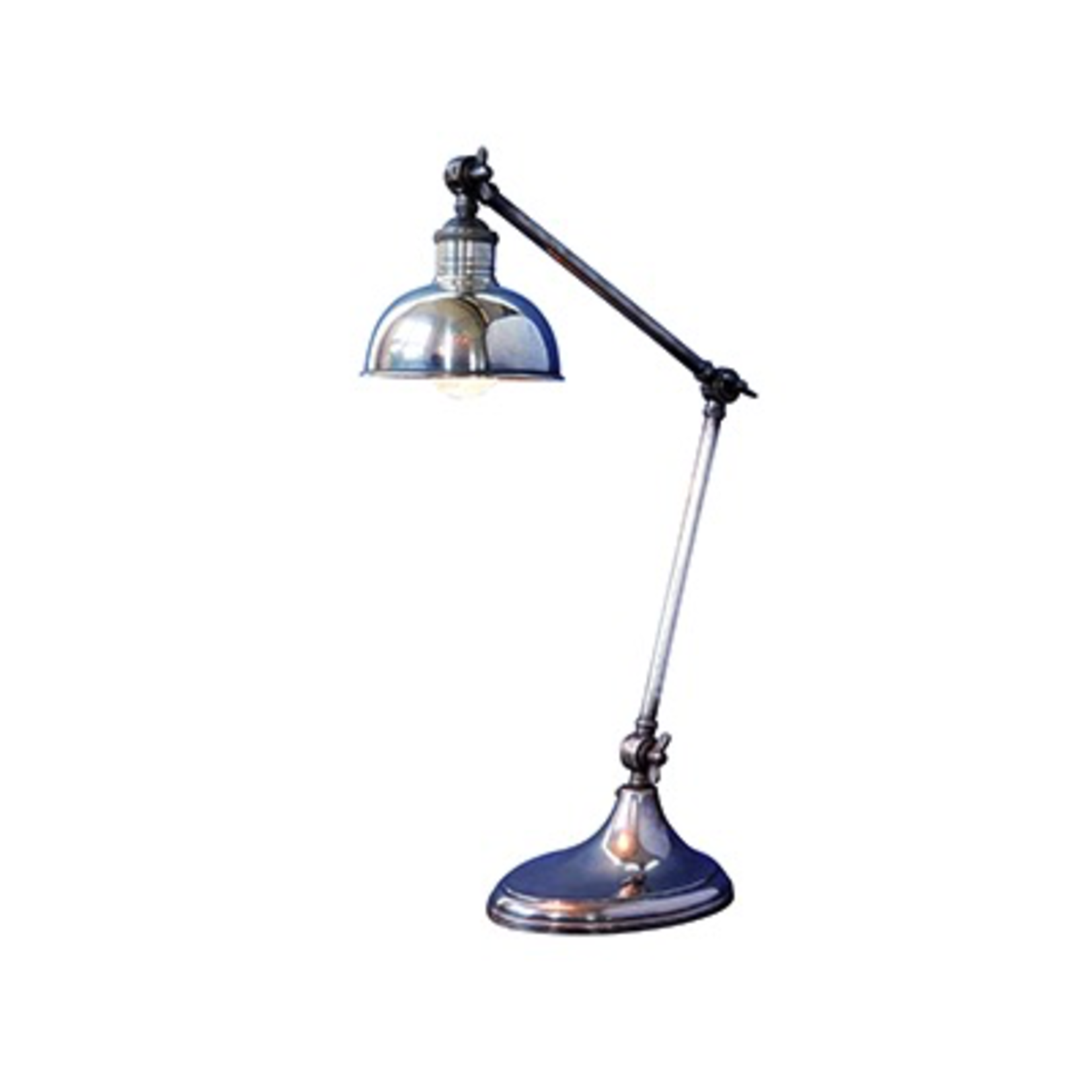 CHEHOMA TABLE LAMP WHITH OVAL BASE