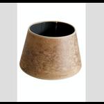 CHEHOMA Cylinder shade tobacco leather way 30 cm