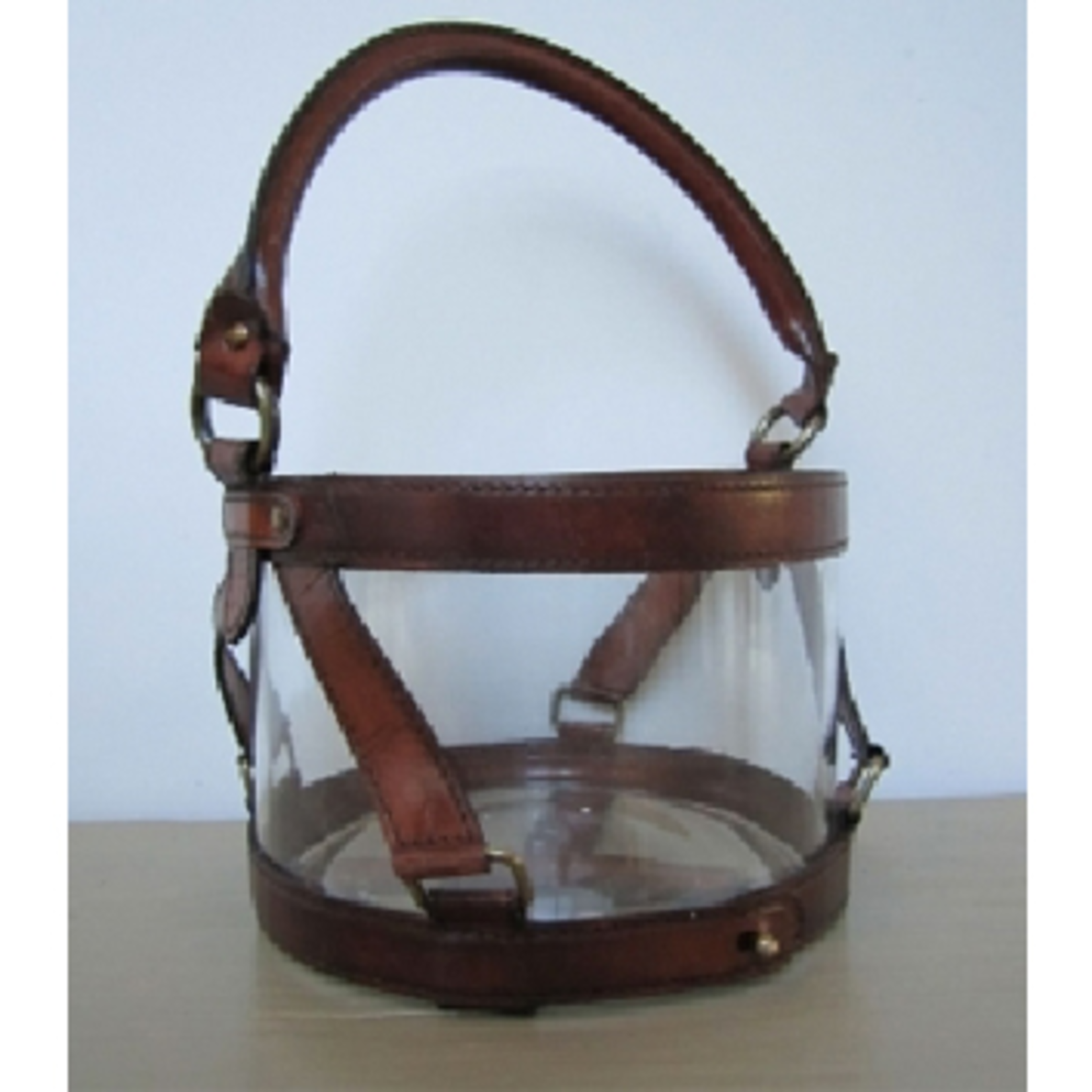 CHEHOMA HURRICANE 15CM CLEAR BROWN LEATHER