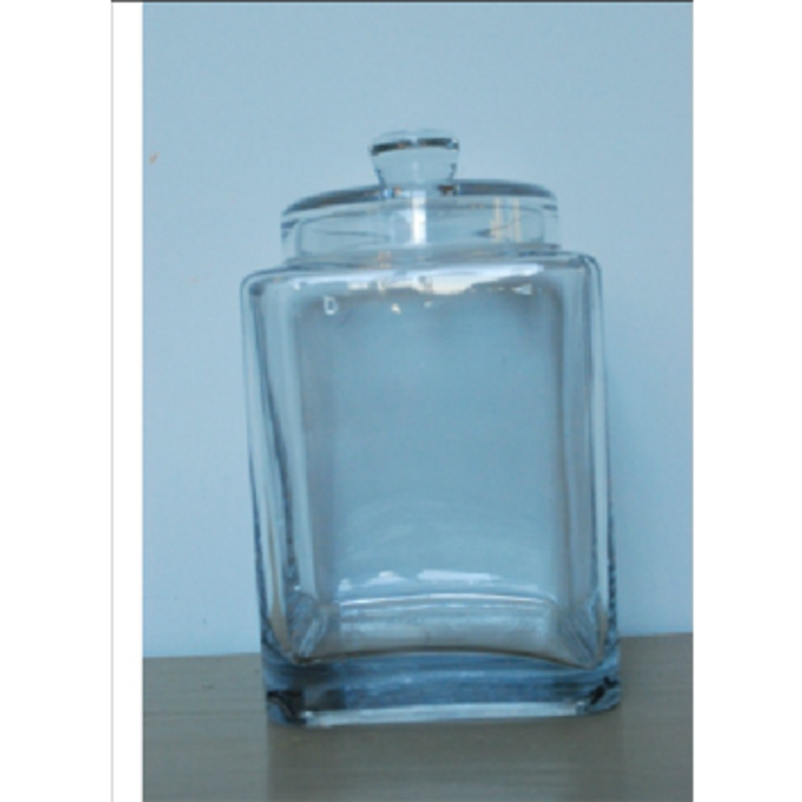CHEHOMA SQUARE JAR IN GLASS