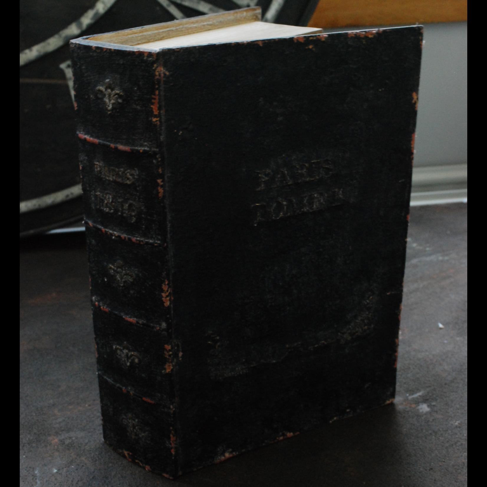 CHEHOMA BOOK BOX BLACK 'PARIS'
