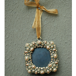 CHEHOMA Hanging photo frame light gold pearl