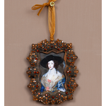 """CHEHOMA Amber crystal """"""""diamonds""""""""rect.picture frame"""