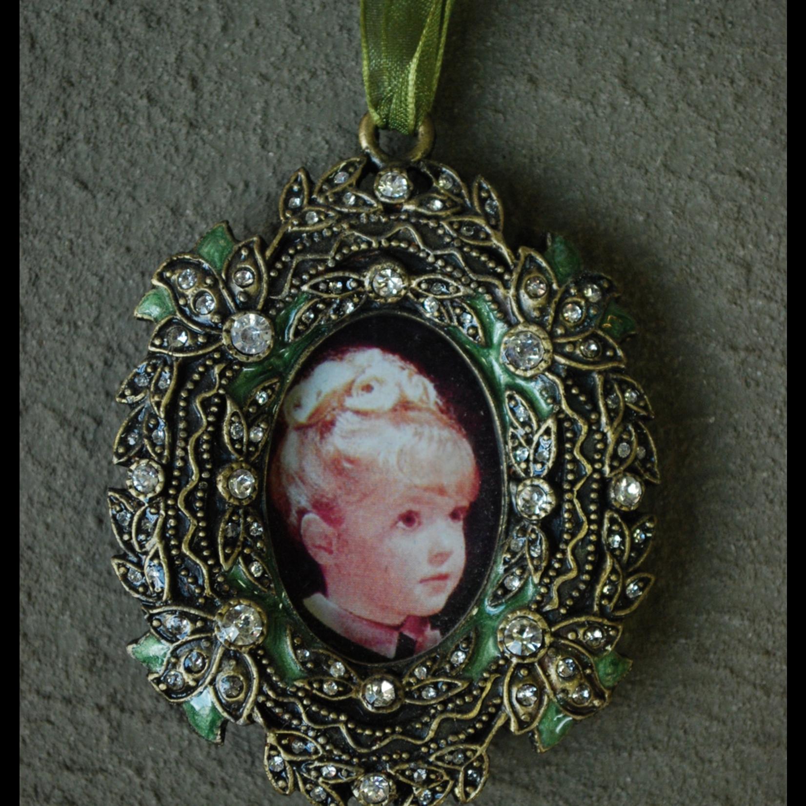 CHEHOMA Hanging pewter photo frame