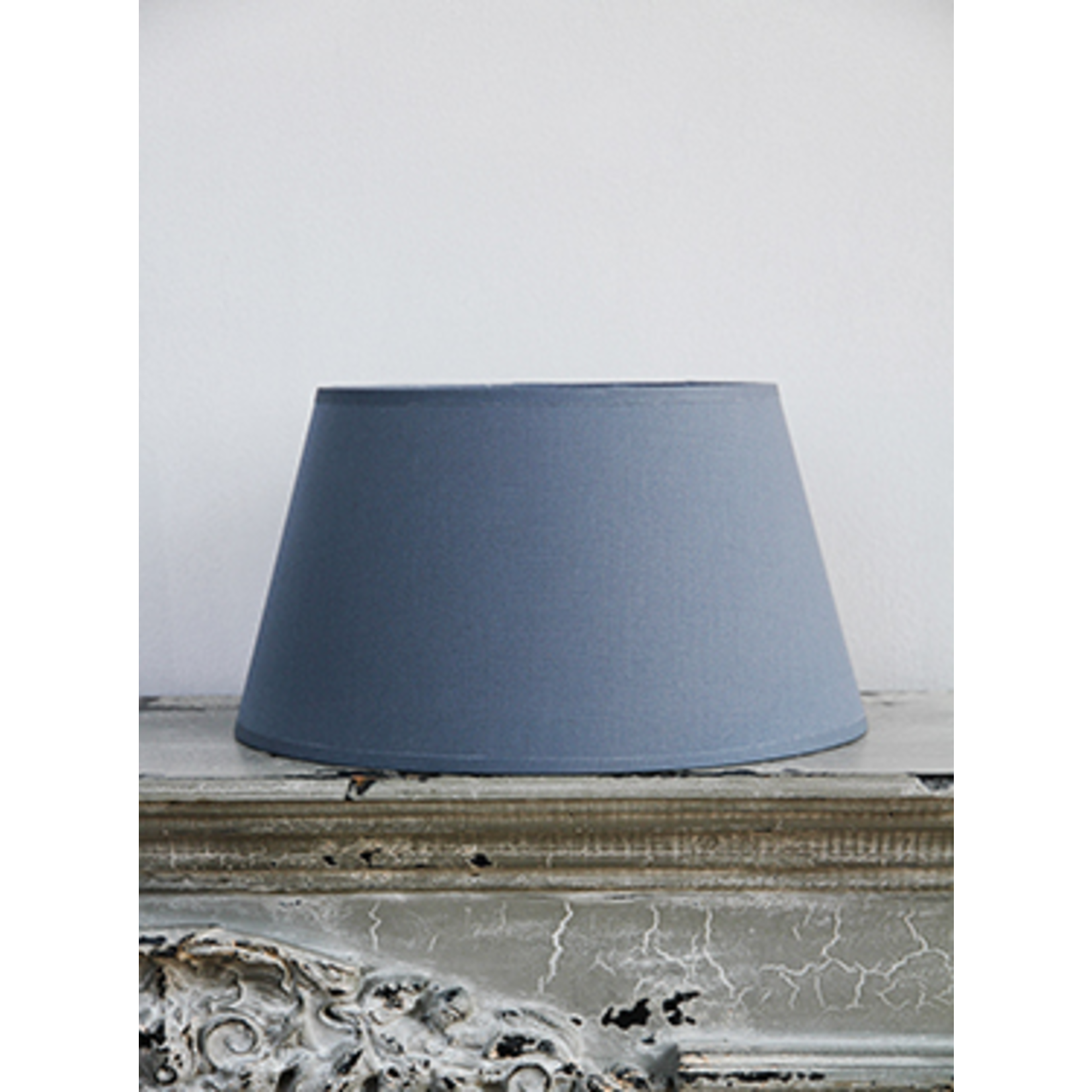 CHEHOMA Cylinder shade in grey cotton 20 cm