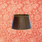 CHEHOMA Cylindrical shade leather & brass (20)