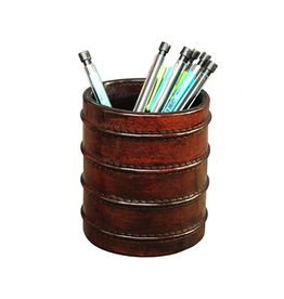 CHEHOMA Leather pen pot