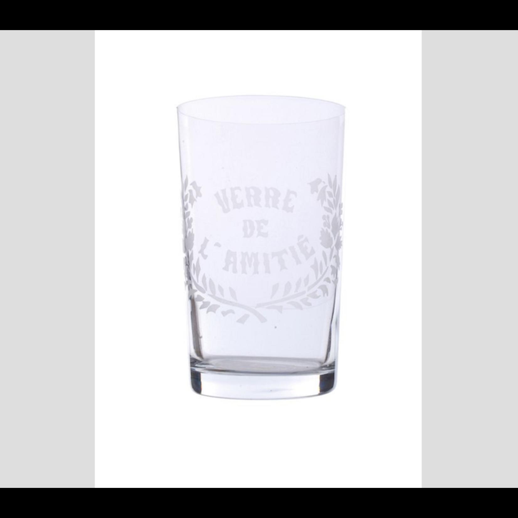 CHEHOMA VERRE DE L'AMITIE' STRAIGHT GLASS