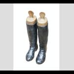 CHEHOMA Deco boots black patina