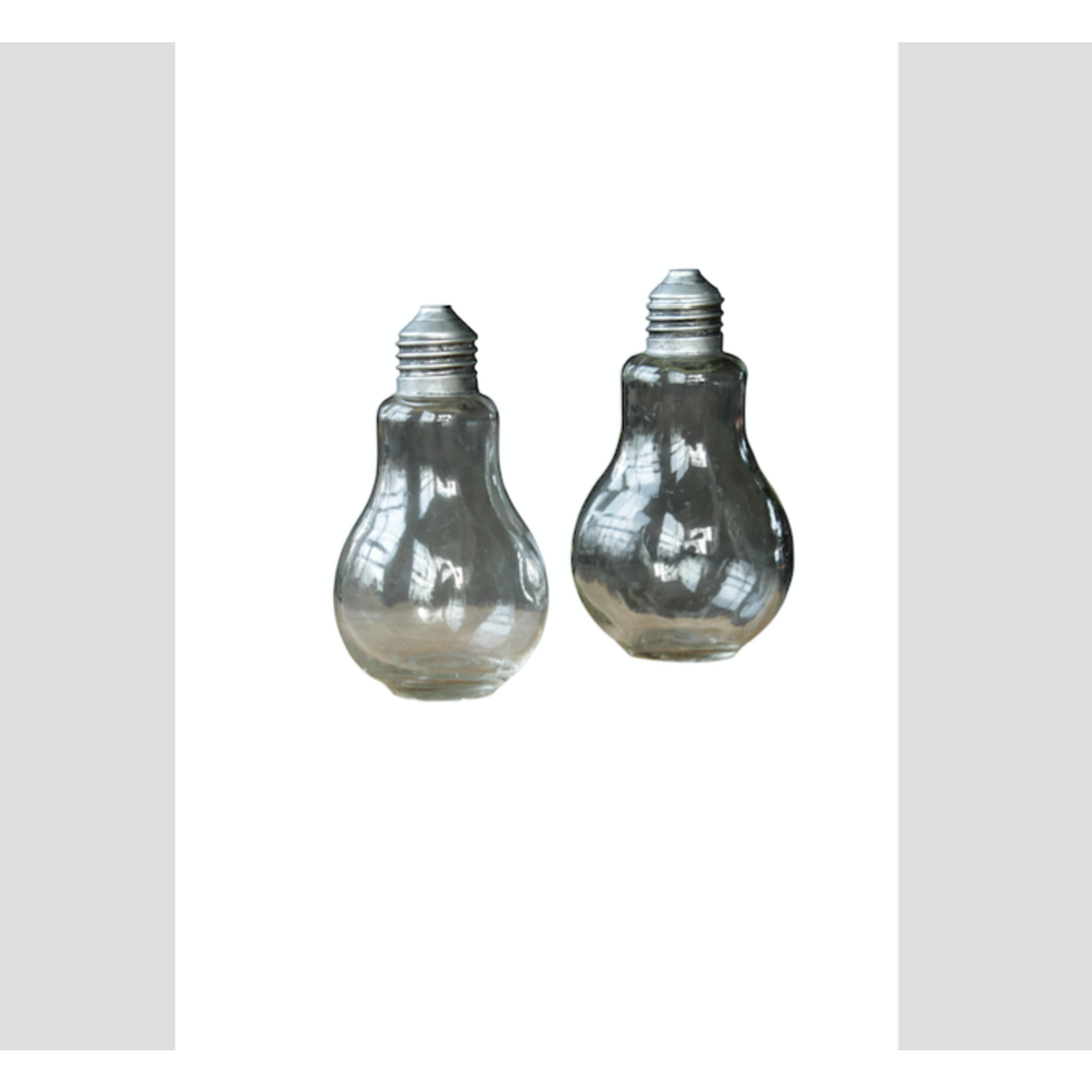 CHEHOMA SET 2  SALT AND PEPPER 'AMPOULE'