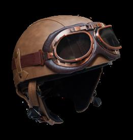 RAYVOLT Helmets 1/2 face brown