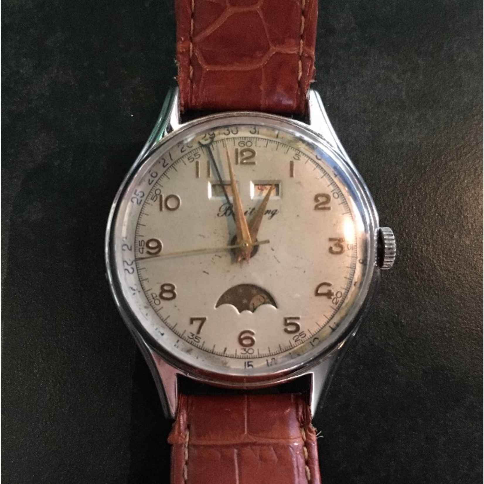 TAJHOME Vintage Watch Brieitling