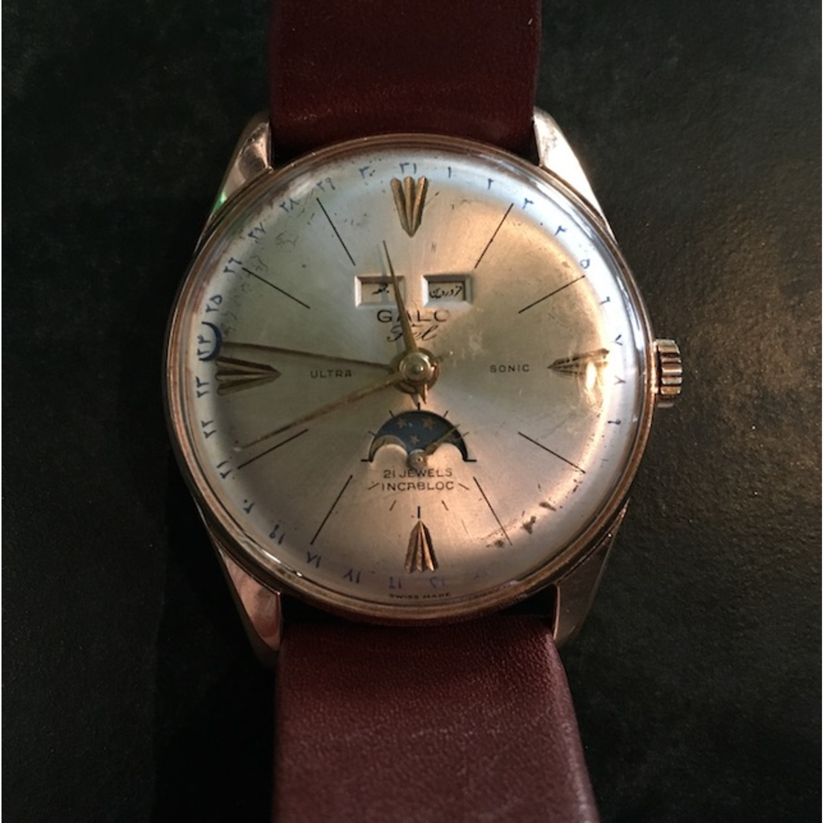 TAJHOME Vintage Watch Galo