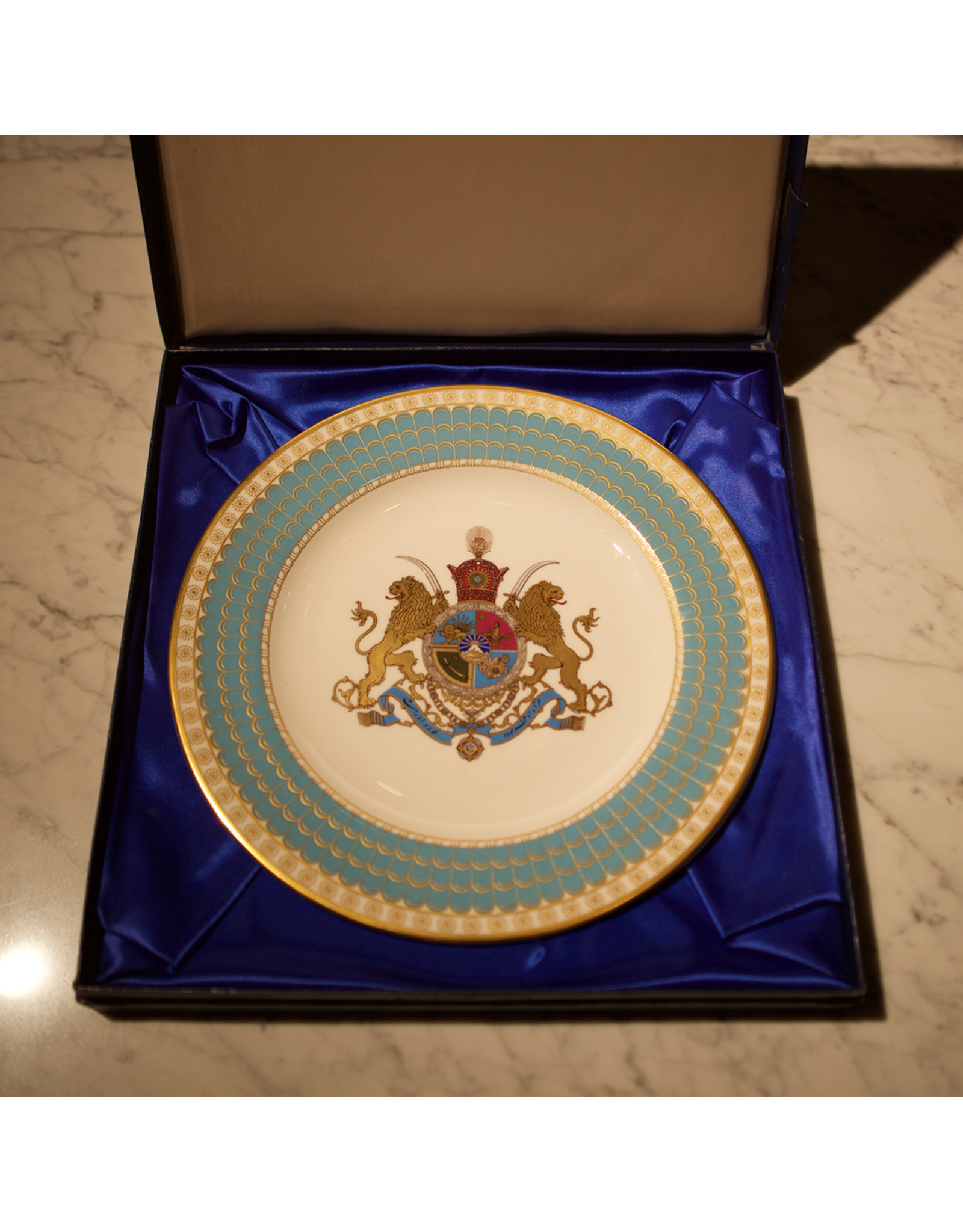 TAJHOME 2,500 year celebration of the Persian Empire Plate