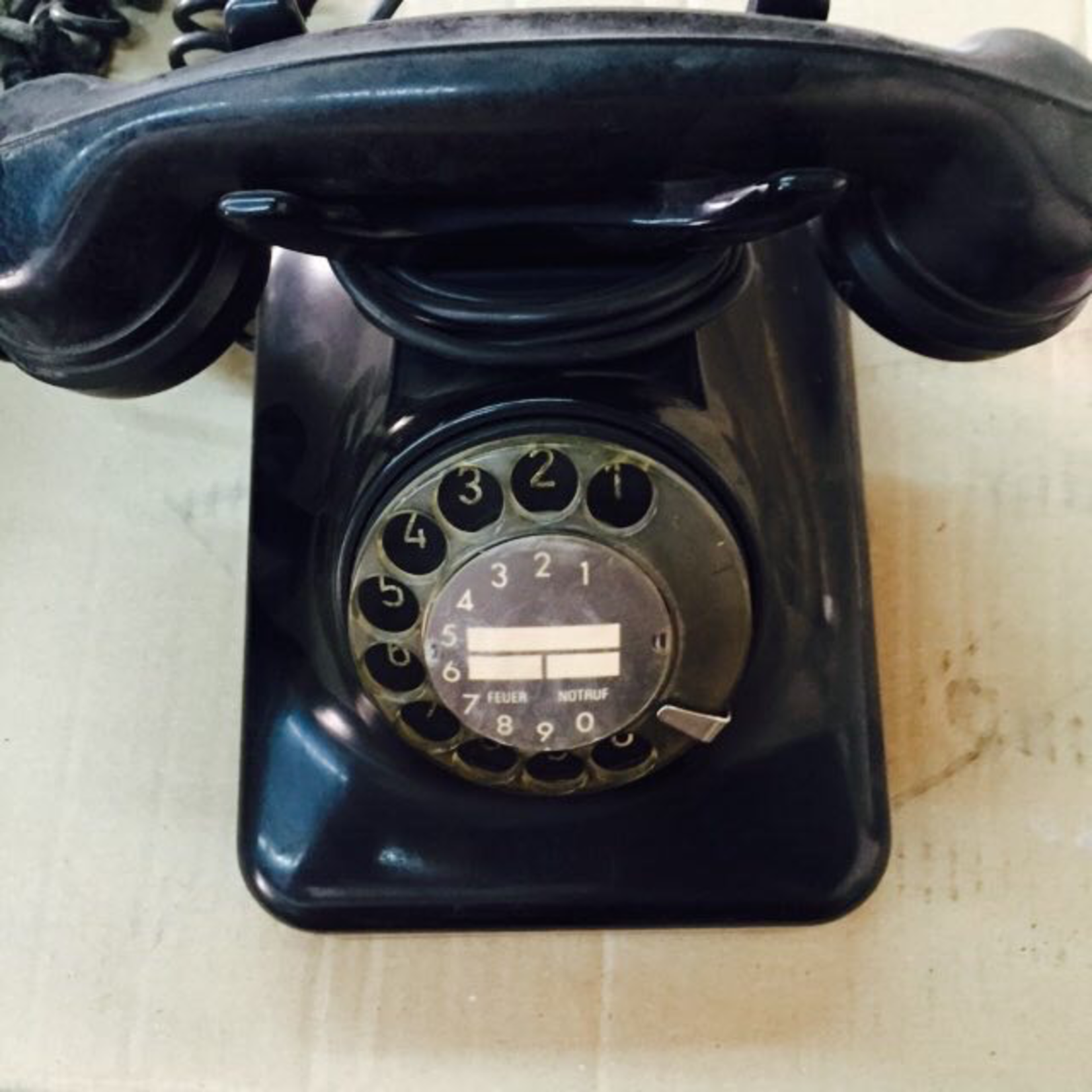 TAJHOME VINTAGE BALCK PHONE