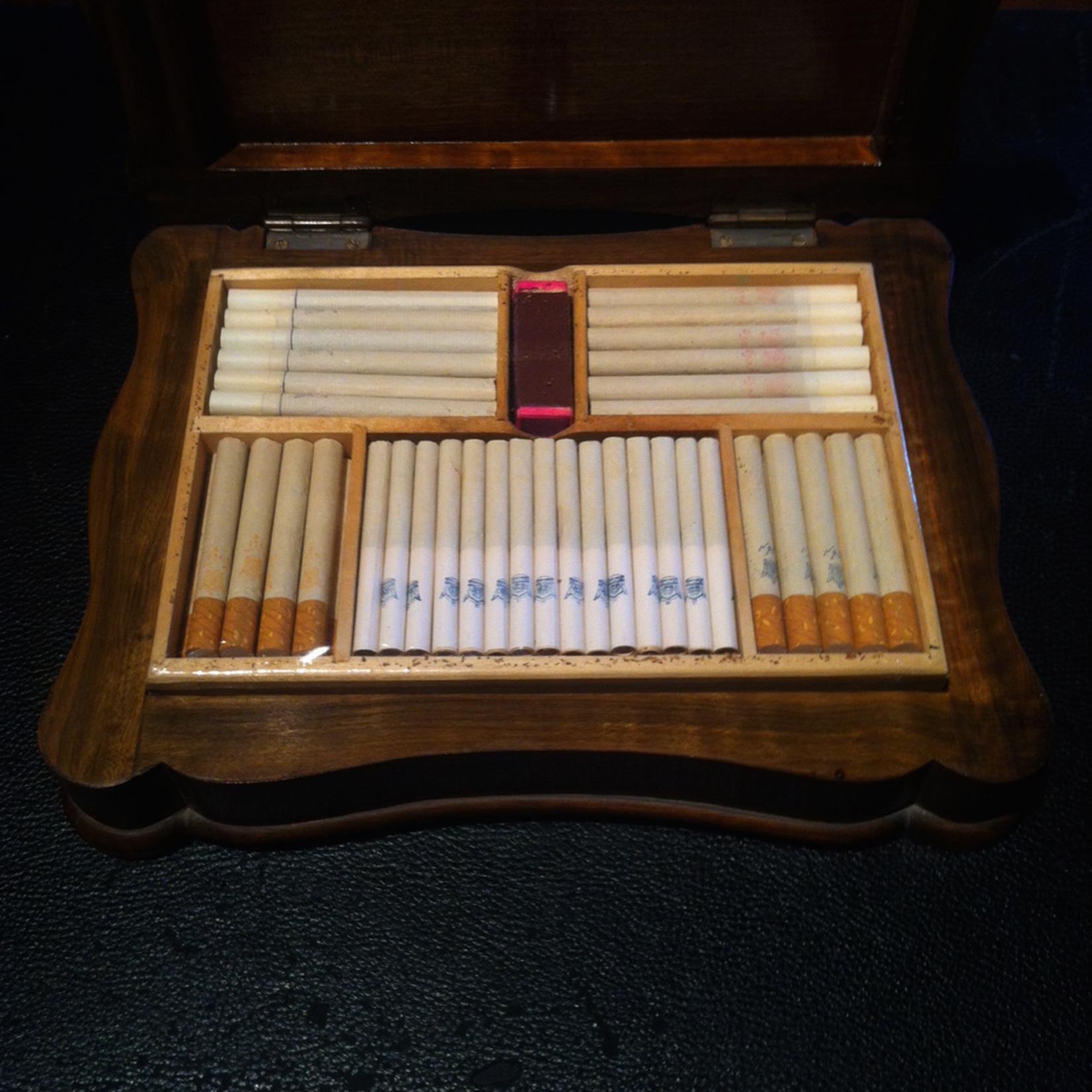 TAJHOME Cigar Wood Box Vintage S NEW