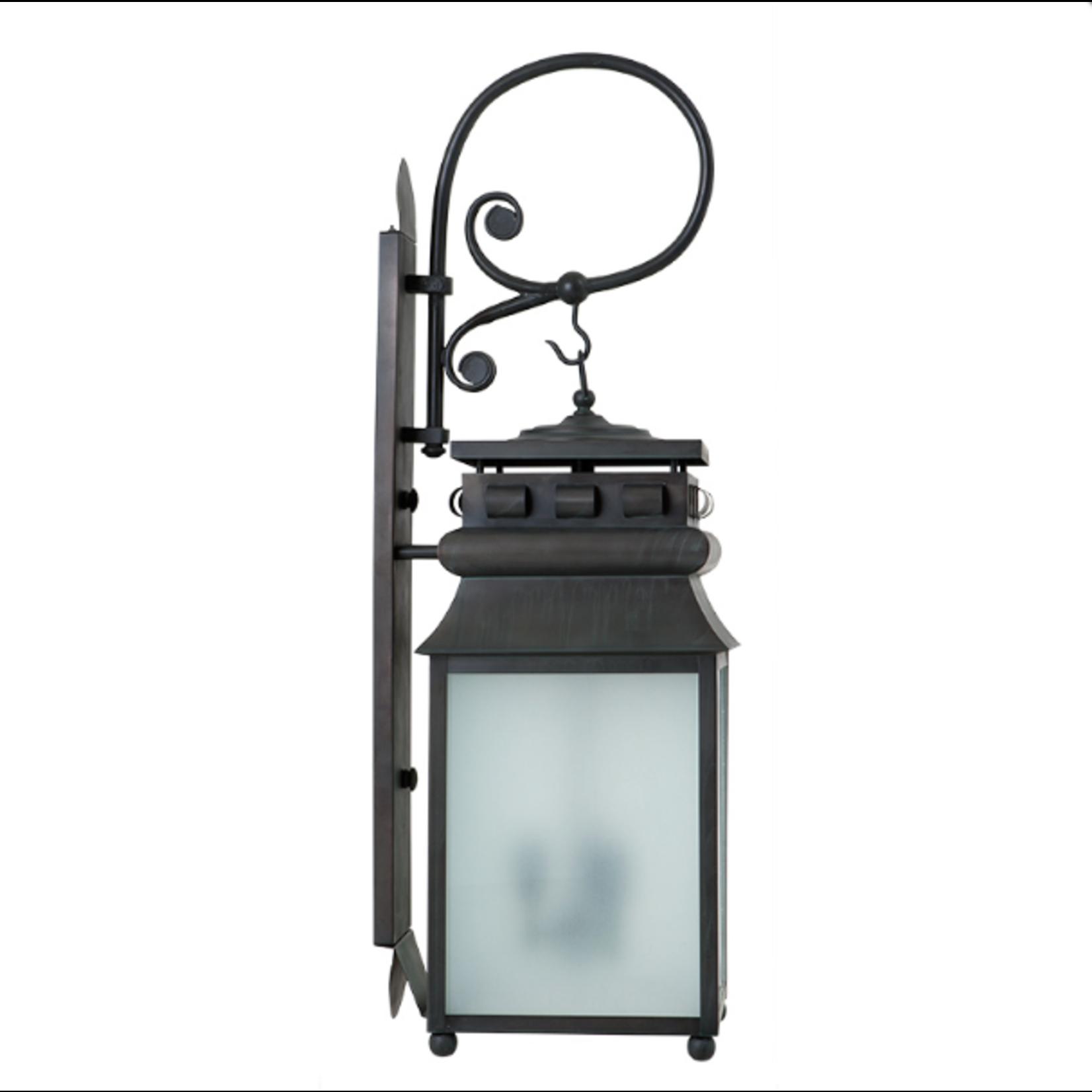EICHHOLTZ LAMP WALL JILL CHARCOAL GREY FROSTE