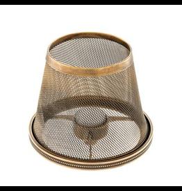 EICHHOLTZ Candle Holder Shade Colindale vintage brass finish