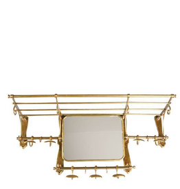 EICHHOLTZ Coatrack Old French brass