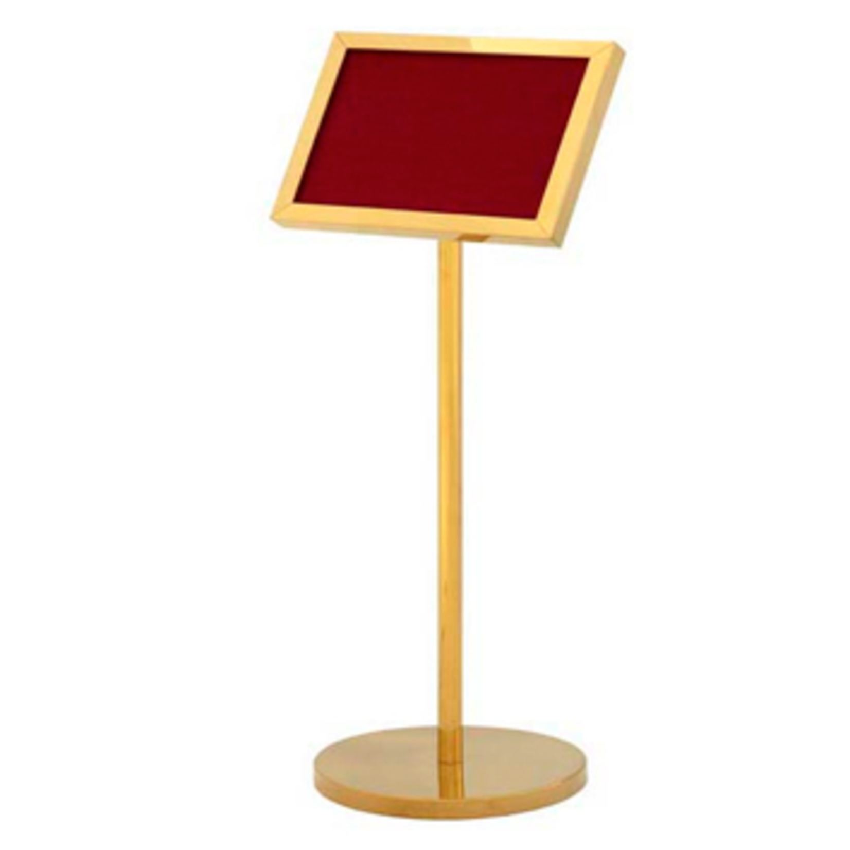 EICHHOLTZ SIGN STAND TITANIUM GOLD