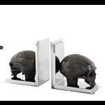 EICHHOLTZ Bookend Skull set of 2