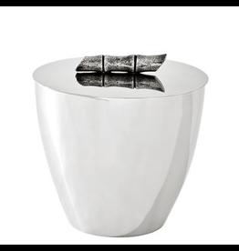 EICHHOLTZ Ice Bucket Haiti nickel/ant silver