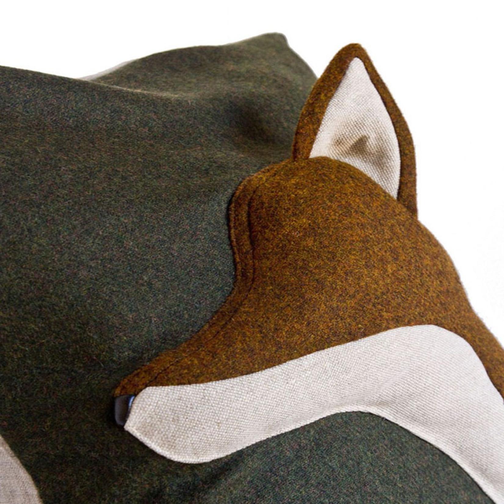 SOFTHEADS FOX PILLOW-RED MILL