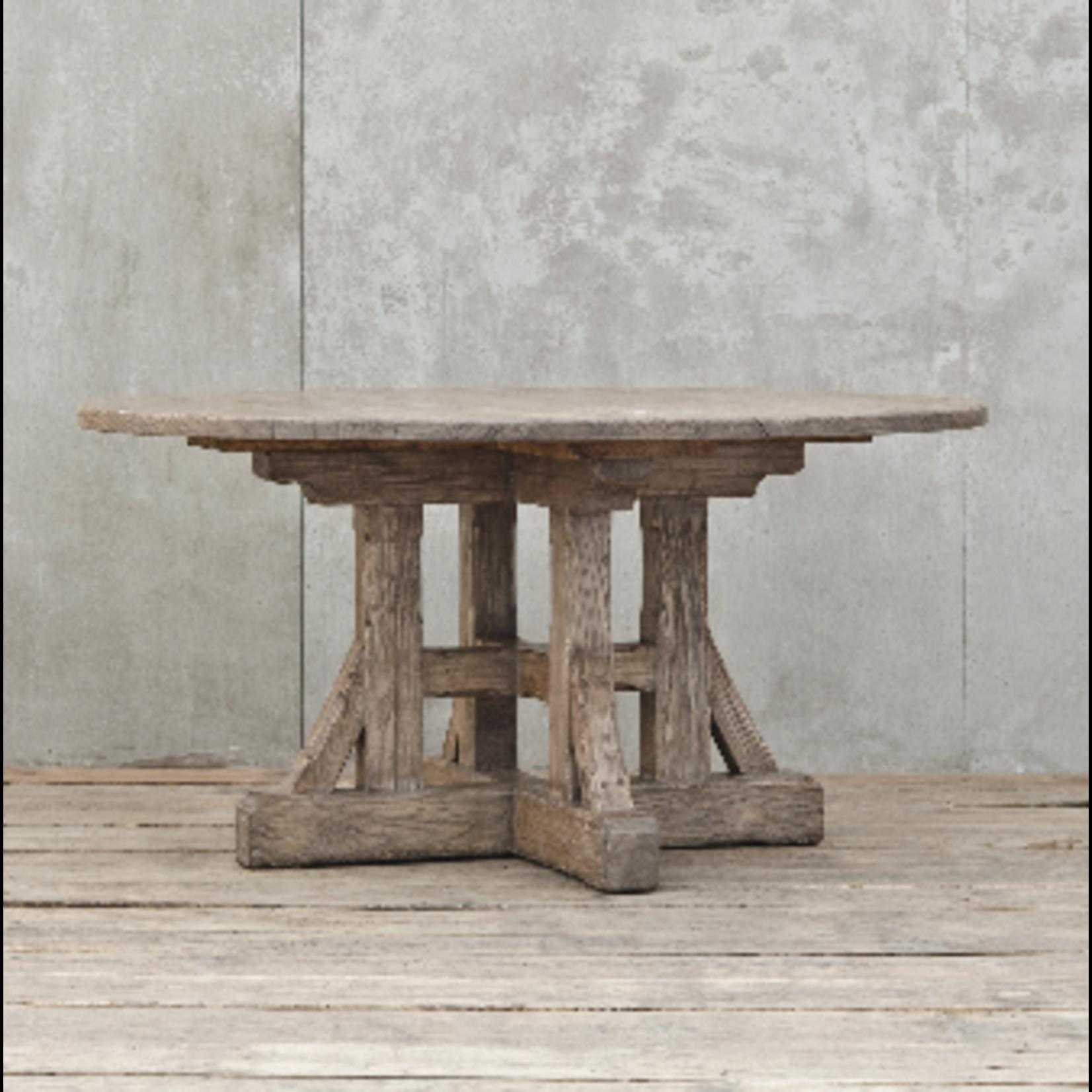 VAN THIEL FREDERIK'S TABLE ROUND WEATHERED
