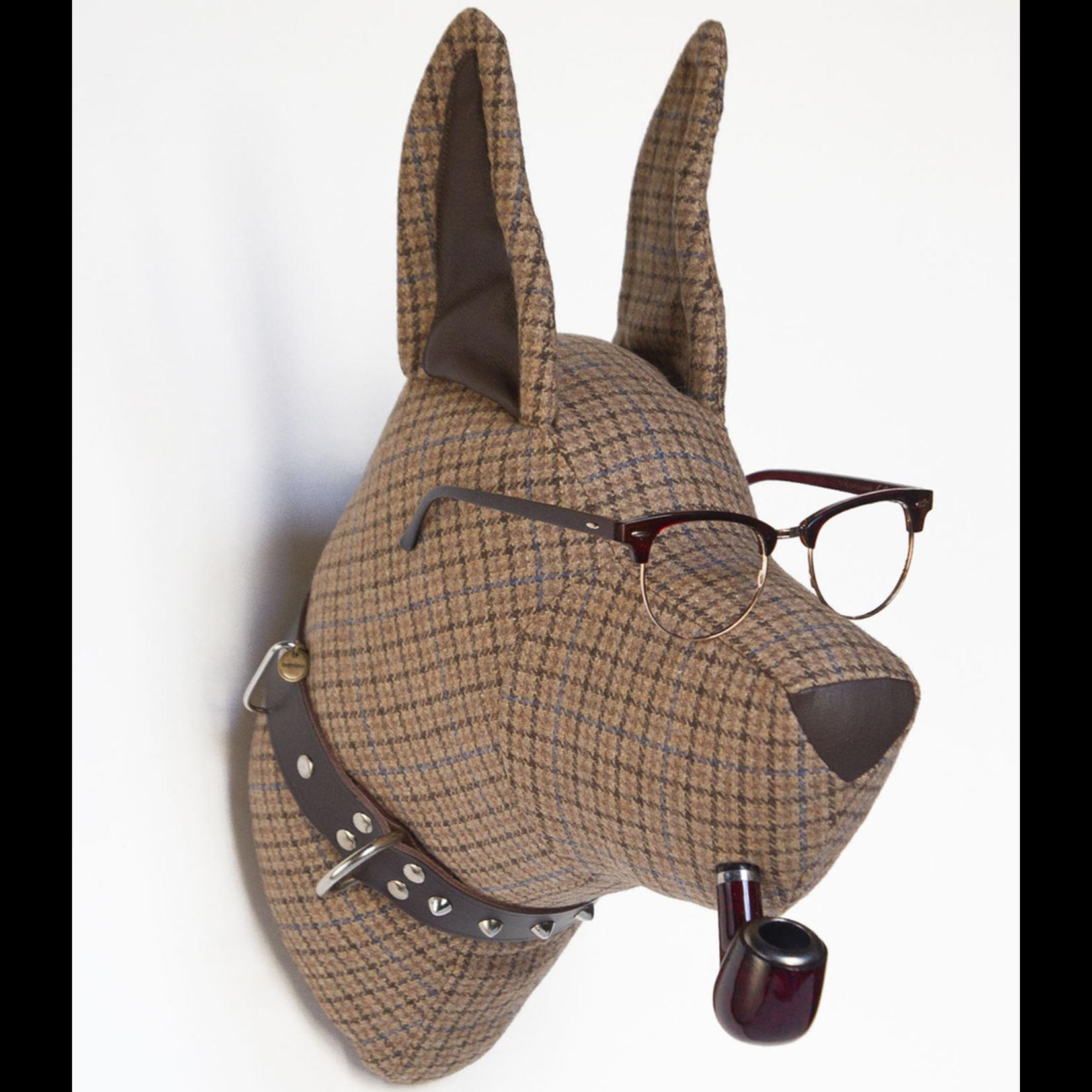 SOFTHEADS SOFT DOGO CARSON (GLASSES + PIPE)