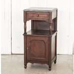 VAN THIEL SIDE TABLE ANITQUE FRENCH NIGHT STAND