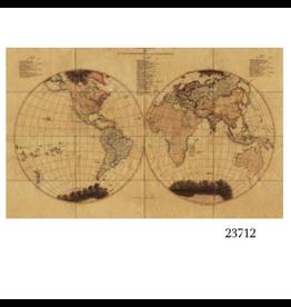VAN THIEL THE WORLD MAP LARGE