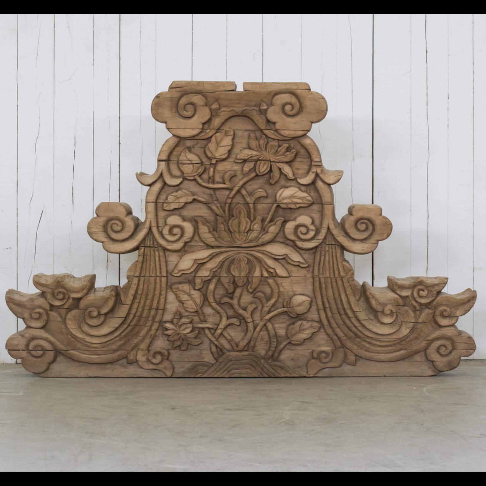 VAN THIEL Antique Carving  LARGE